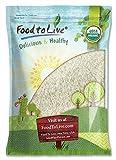Food to Live Riso al gelsomino Bio (Biologico, Organic, non OGM, Kosher, sfuso) - 5 libbre