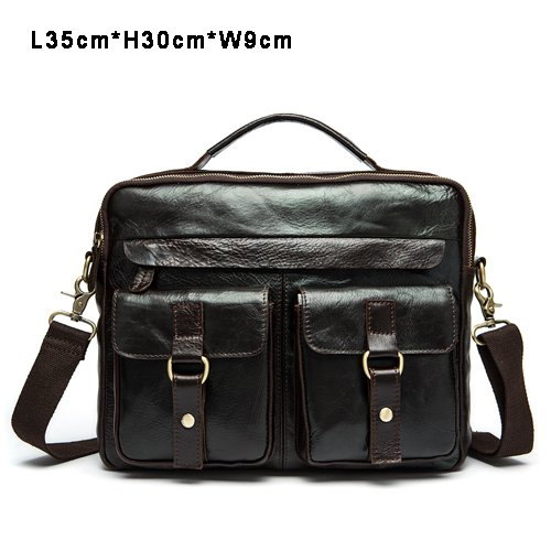echtes leder - tasche lässig männer handtaschen männer crossbody taschen für männer reisetasche tragen aktentaschen männer taschen laptop schwarze kasse