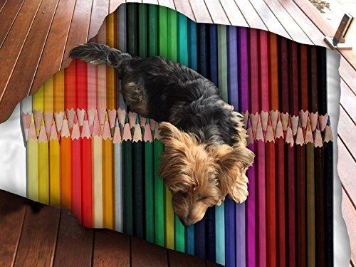 Buntstifte, Hundebett Pet Supplies Große extra Größe XL Reißverschluss mit Innenkissen