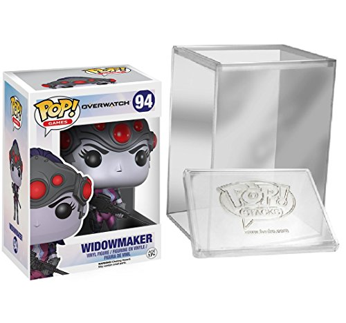 Price comparison product image Funko Pop: Games: Overwatch - Widowmaker Vinyl Figure PROTECTIVE CASE