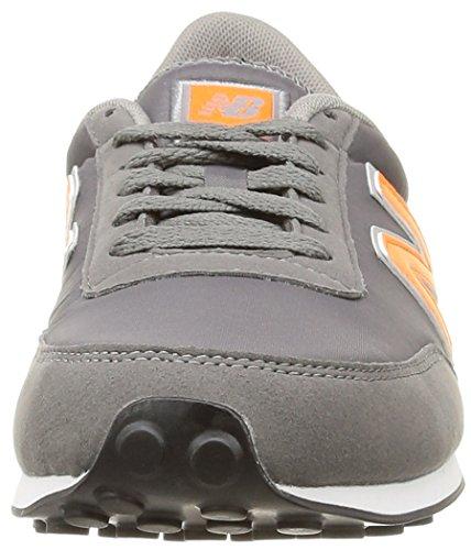 New Balance U410 D, Baskets mode mixte adulte Gris (Cpd Grey/Orange)
