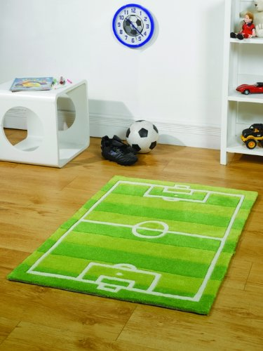 Rugs With Flair KIDDY Play Football Pitch Vert
