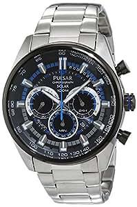 Pulsar Men S Quartz Watch Wrc Px5019x1 With Metal Strap