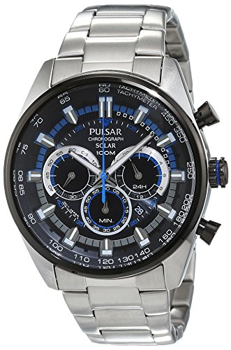 Pulsar Men's Chronograph Quartz Watch – PX5019X1 Best Price and Cheapest