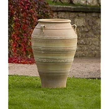 hochwertige große terracotta Amphore 100 cm