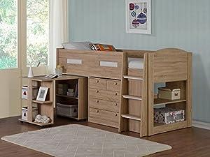 Flintshire Furniture Frankie, Wood, Oak, Single
