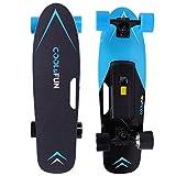 Cool & Fun Elektro-Skateboard Elektro-Longboard für Kinder & Jugendliche LG (Blue)