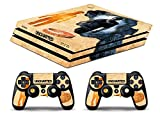 Skin Ps4 PRO - UNCHARTED GESCHICHTE - limited edition DECAL COVER Schutzhüllen Faceplates playstation 4 SONY BUNDLE - VINYL POLIERTEN