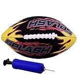 Molee Molee American Football, Wasserdichter Neopren-amerikanischer Fußball Polyester für Kinderwasserball-Wasser-Beweis