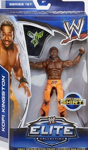 WWE Elite 27Kofi Kingston Wrestling Action Figur