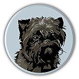 Affenpinscher Dog Head Auto-Dekor-Vinylaufkleber 12 X 12 cm