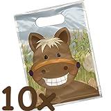 Unbekannt 10 Partytüten * SÜSSES PONY * für Mitgebsel zum Kindergeburtstag oder Mottoparty//Pferde Horse Geschenktüten Tüten