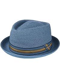 eedc5b2154c Stetson Contrast Stitch Toyo Diamond Hat Summer Sun Hat Beach Hat Fedora  Porkpie for Men and
