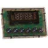 spares2go 6Taste Digital Uhr Timer für Philips Ofen Kochfeld (kristallklar)