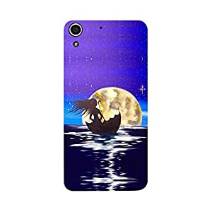 Digi Fashion Designer Back Cover with direct 3D sublimation printing for HTC Desire 728