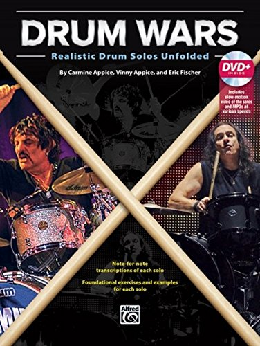 Drum Wars: Realistic Drum Solos Unfolded, Book & DVD