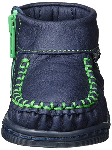 Walkkings Unisex Baby Zip Around Lauflernschuhe Blau (Walkking's Blue)