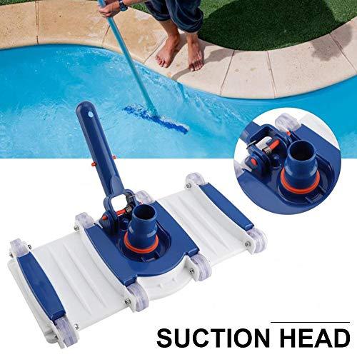 Hete-supply Stil Reinigungssauger, 14-Zoll-Spitze Durable Swimmingpool-Reinigungsgeräte Unterwassersauger Abwassertank Zubehör Pool Armaturen
