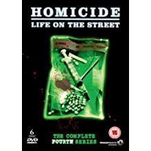 Homicide: Life on the Street - Complete Series 4 [DVD] [1995]