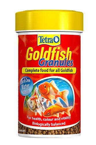 Tetra Goldfish Granules 100ml (32g) Promotes health natural colouring & vitality