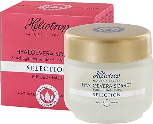 HELIOTROP Naturkosmetik SELECTION Hyaloevera Sorbet, Für ein gepflegtes & geschmeidiges Hautbild,...