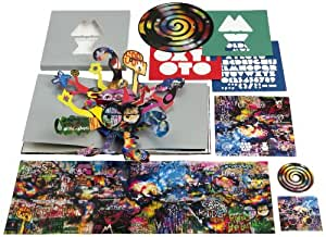 Mylo Xyloto Special Cd Picture Vinyl Pop Up Book