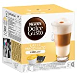 Nescafé Dolce Gusto Latte Macchiato Vanilla Getränkekapsel, je 8 Milch- und