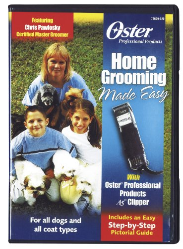 Oster Home Grooming Made Easy with Professional Products A5 Clippers DVD