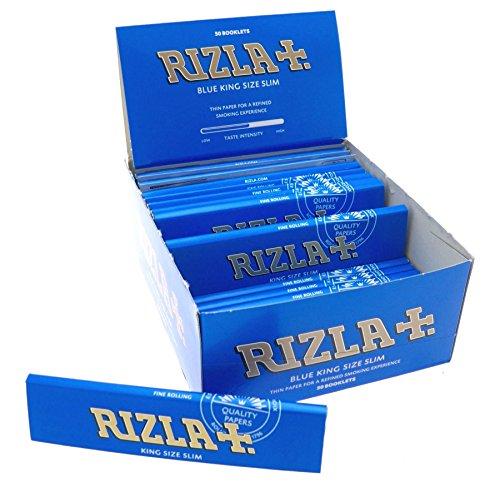 Rizla Blau King Size Slim Dünn Smoking Papers 5