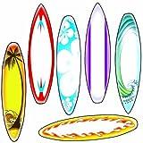 Edupress EP-3137 Surfboard mit bunten Akzent St-cke