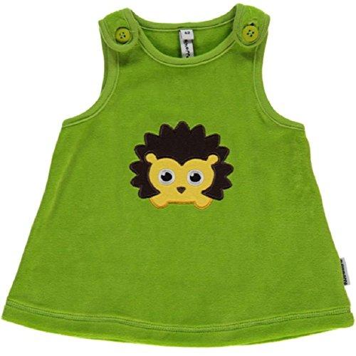 maxomorra Mädchen Kleid Igel Embroid grün (74)