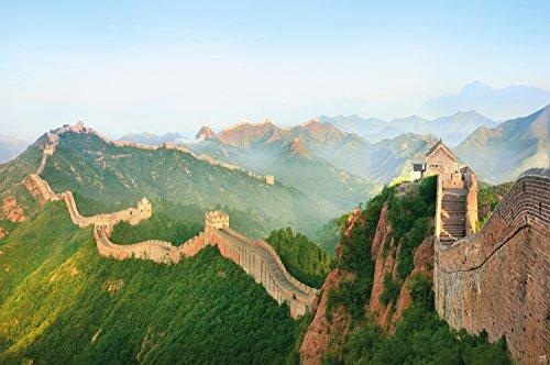 Die Chinesische Mauer Wandbild by GREAT ART XXL Poster Wanddekoration 140 cm x 100 cm