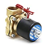 JUNESUN 3/4'220V Electroválvula eléctrica Neumática 2 Puertos Agua Aceite Aire Gas 2W-200-20