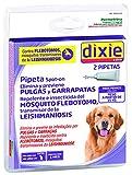 Dixie - Pipetas Permetrina Para Perro superior a 15kg. Leishmaniosis. (2 pipetas de 2 ml)