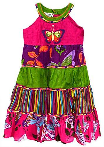 Generic - Robe - Patineuse - À Fleurs - Sans Manche - Femme Multicolore