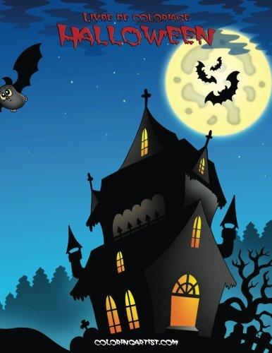 Livre de coloriage Halloween 1 (Halloween Horreur Coloriage)