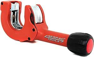 Rouge//noir 3 23/mm Nerrad outils Nt4023/r/églable /à cliquet Action en cuivre//inox Tube Cutter