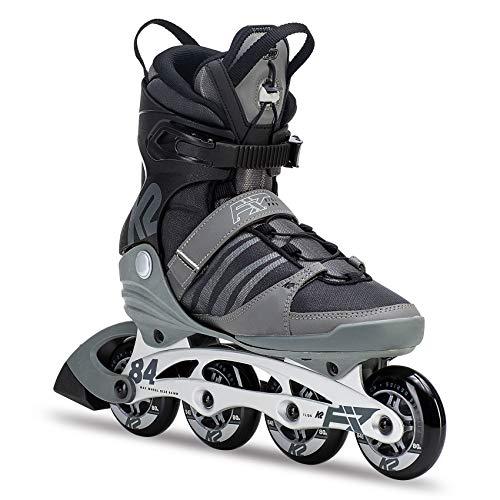 K2 Herren Inline Skates F.I.T. 84 Pro - Schwarz-Grau - EU: 43.5 (US: 10 - UK: 9) - 30C0013.1.1.100