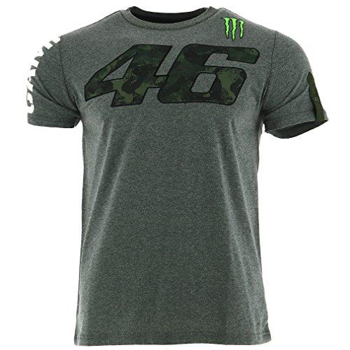 Valentino Rossi VR46 Moto GP Monster Camp Edition Camiseta Oficial 2017