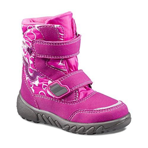 Mädchen Blinki (Husky) Schneestiefel, Pink (Fuchsia), 28 EU ()