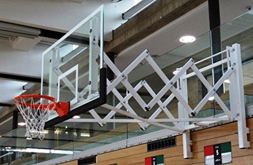 Original Benz Sport® - Basketball Zielbrett / -Board - ESG - Mit Korbaussparung (DIN/FIBA)