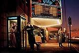 Rahmen-Kunst Keilrahmen-Bild - Chris Consani: Midnight Matinee Leinwandbild Marilyn Monroe Elvis Presley James Dean (60x90)