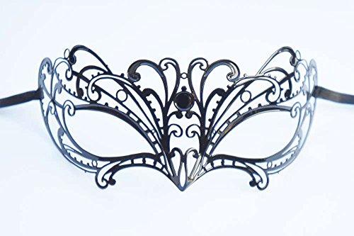Masken Maskerade Extravagante (Danzetta - Venezianische Maske Metall)