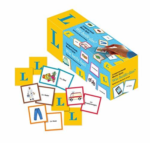 Langenscheidt Memo-Spiel Wie Heißt Das?: Spielerisch Deutsch Lernen
