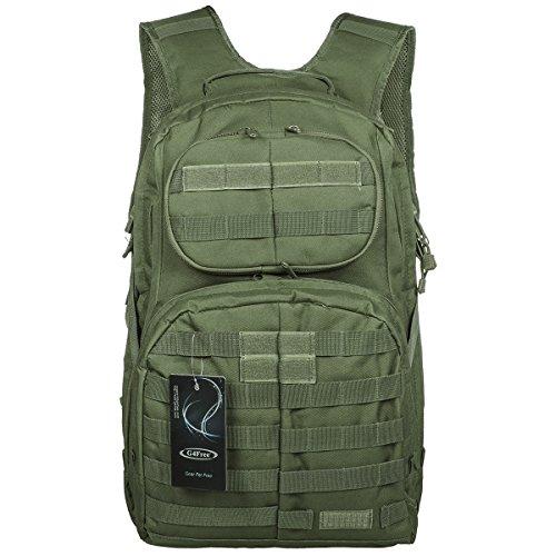 G4Free 40L militare dell'esercito pattuglia MOLLE pacchetto di assalto di combattimento tattico dello Zaino dello (Compagno Occhiali Da Sole)