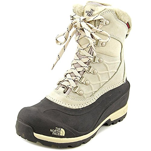 The North Face Chilkat 400 Boot Women's Simply Taupe Brown/TNF Black 6 (The North Face Schuhe Chilkats)