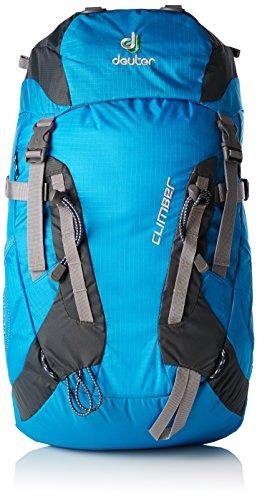 Deuter Climber Mochila, Unisex niños, Turquesa (Turquoise / Granite), 22 l