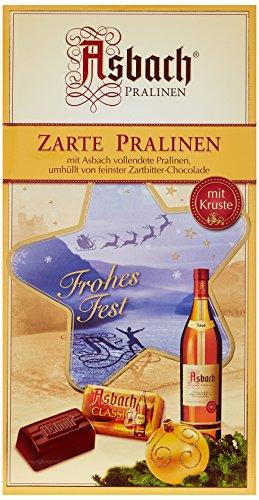 Asbach-Pralinen Packung mit Weihnachts-Aufkleber, 1er Pack (1 x 500 g)