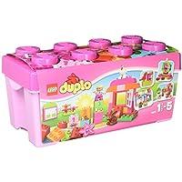 Lego 10571 Duplo Große Steinebox Mädchen, Spielzeug mit Lerncharakter für Babys