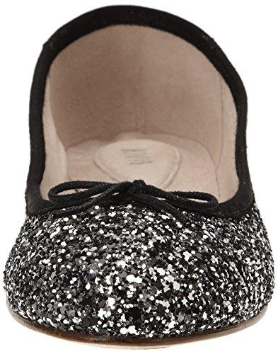 Bloch Eloise Damen Ballerinas Silber - Argent (Black Silver)